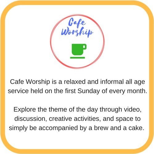 logo cafe worship